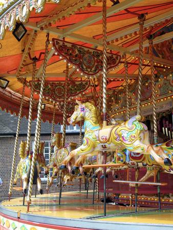 round: Childrens Carousel Ride
