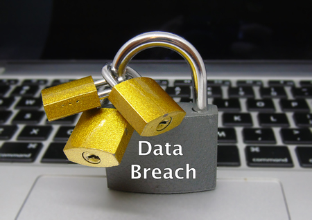 Data Breach Padlocks - Data Protection Concept
