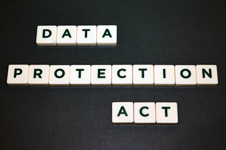 Data Protection Act Board Game Tiles Imagens
