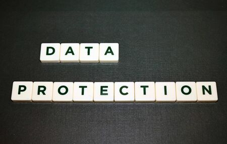 Data Protection Board Game Tiles Imagens
