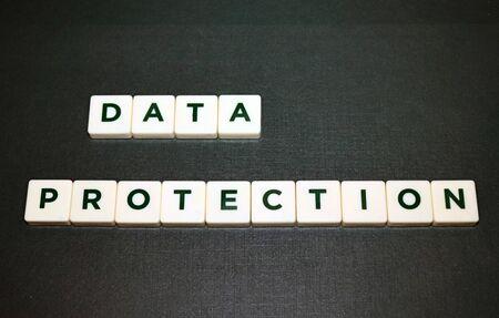 Data Protection Board Game Tiles 版權商用圖片