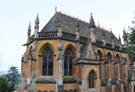 Victorian gothic revival house chapel, Tyntesfield, Somerset