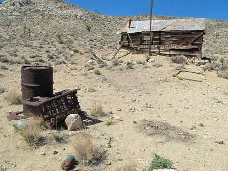 Abandoned mining town Death Valley National Park