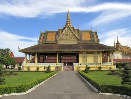 Royal Palace Phnom Penh Cambodia Editorial