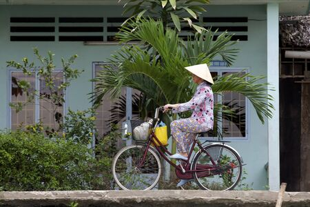 Bicycle Riding in Vietnam
