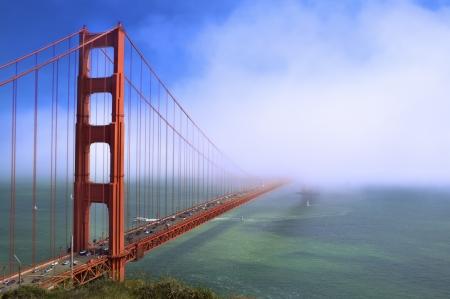 foggy: Fog At The Golden Gate Bridge