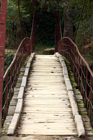 Suspension Bridge Voet Sapa Vietnam