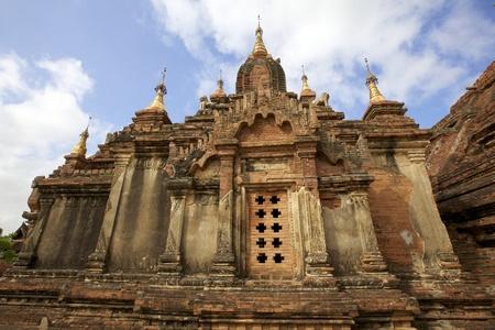 dhamma: Dhamma Ya Zi Ka Pagoda in Myanmar Archivio Fotografico