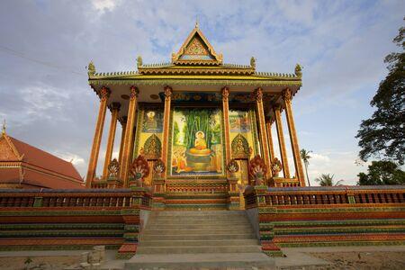 Wat Chowk in Siem Reap Province, Cambodja