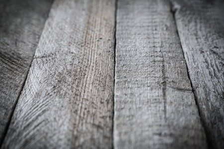 shallow  focus: Gray wood plank texture. Abstract background, shallow focus, empty template