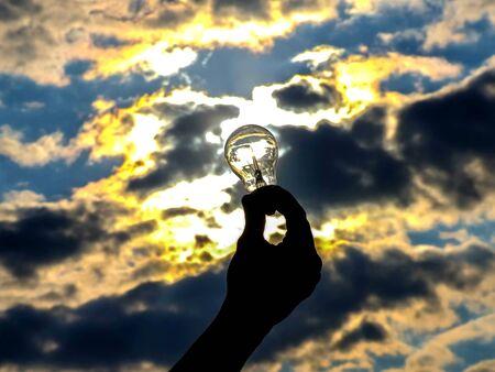 sun energy: sun energy Stock Photo