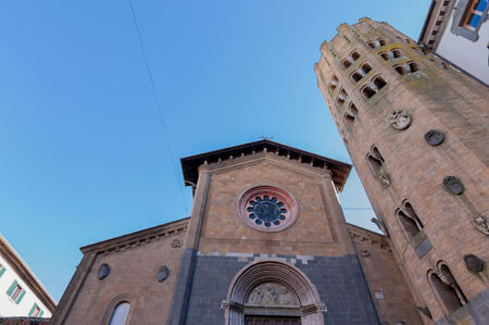 orvieto: Church of St. Andrew in Orvieto Umbria Italy