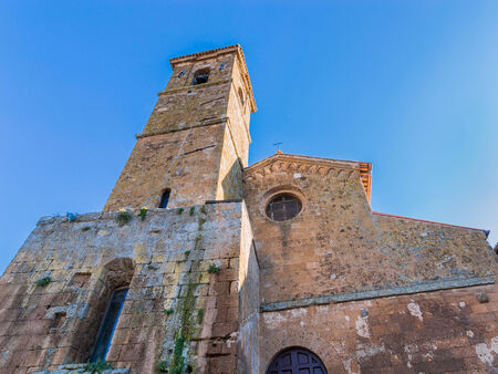 orvieto: Iglesia de San Giovenale.First catedral de Orvieto, Italia Foto de archivo