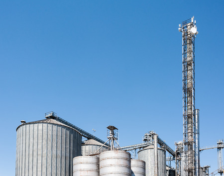 industrial machinery: Plant for the drying and storage of cereals