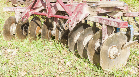 agriculture machinery: Tool for agriculture: part of the agricultural disc harrow machinery
