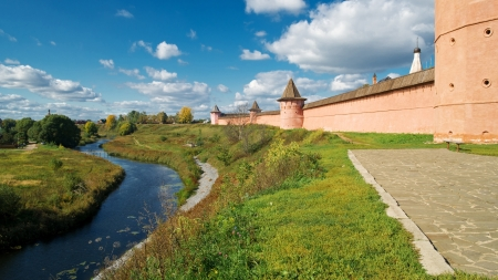 St  Euthymius Monastery in the ancient town of Suzdal, Russia photo
