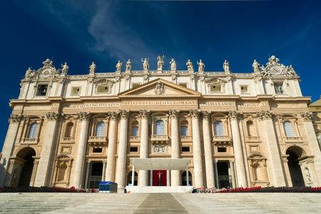 st peter s basilica: St  Peter s Basilica in Vatican, Rome