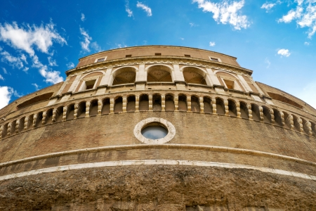 angelo: Castel Sant Angelo in Rome, Italy