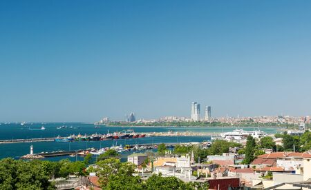 marmara: Sea of Marmara in Istanbul, Turkey