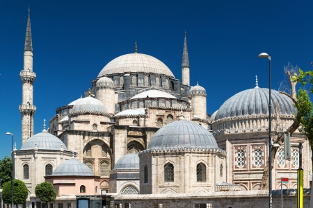 The Sehzade Mosque in Istanbul, Turkey  It is sometimes referred to as the Prince