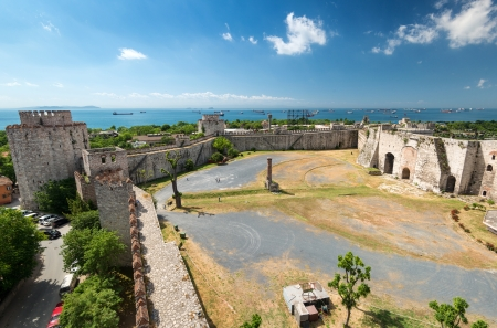 mehmed: The Yedikule Fortress in Istanbul, Turkey  Yedikule fortress, or Castle of Seven Towers, is the famous fortress built by Sultan Mehmed II in 1458