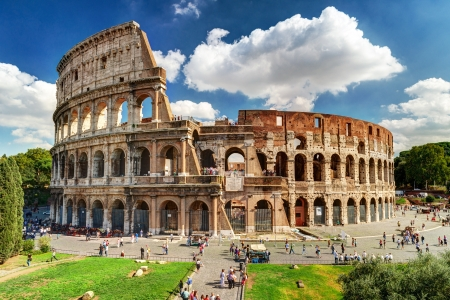 Colis?e de Rome, Italie. Banque d'images - 21154804