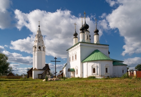 The Saint Alexander Convent in the ancient town of Suzdal, Russia photo