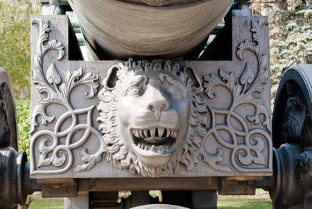 bombard: L'antico pi� grande cannone Cremlino a Mosca, Tsar Cannon