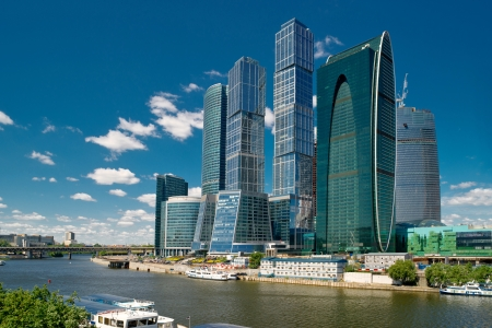 Moscow-city  Moscow International Business Center , Russia