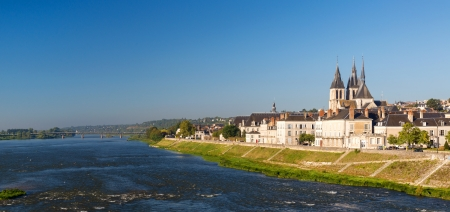 Abbaye Saint-Laumer in Blois, Loire Valley, France