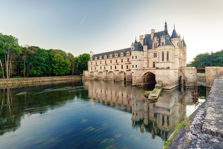 The Chateau de Chenonceau, France  This castle is located near the small village of Chenonceaux in the Loire Valley, was built in the 15-16 centuries and is a tourist attraction