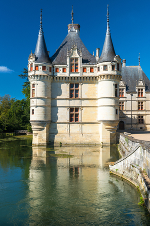 earliest: The chateau de Azay-le-Rideau, France  This castle is located in the Loire Valley, was built from 1515 to 1527, one of the earliest French Renaissance chateaux