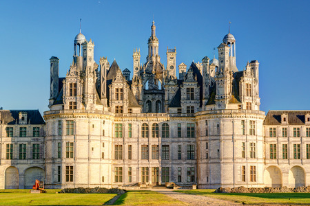 The royal Chateau de Chambord, France  This castle is located in the Loire Valley, was built in the 16th century and is one of the most recognizable chateaux in the world