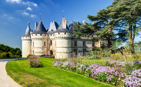 Chateau de Chaumont-sur-Loire, France  This castle is located in the Loire Valley, was founded in the 10th century and was rebuilt in the 15th century