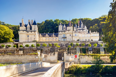usse: The chateau d Usse, France  This castle is located in the Loire Valley and was built in the 15th century