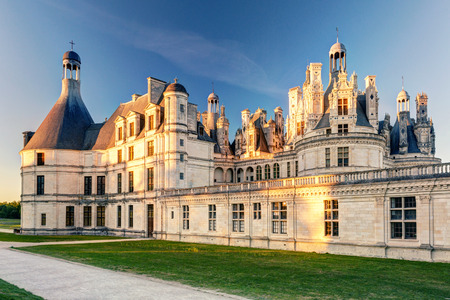 chambord: The royal Chateau de Chambord, France  This castle is located in the Loire Valley, was built in the 16th century and is one of the most recognizable chateaux in the world