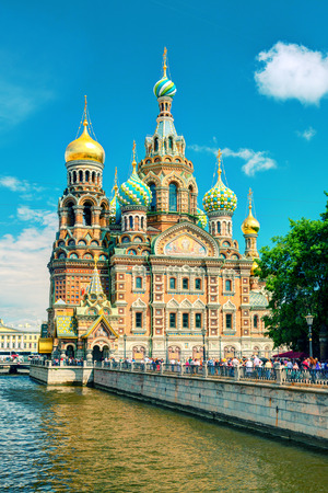 christ blood: Church of the Savior on Spilled Blood  Cathedral of the Resurrection of Christ  in Saint Petersburg, Russia