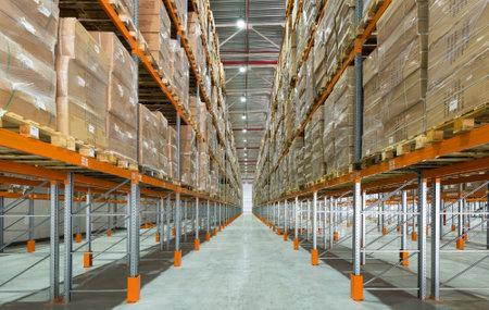 neat: A big modern storage room
