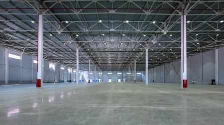 A big modern factory warehouse