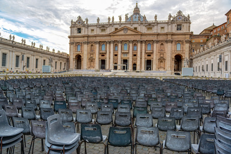 Basilica of St. Peter in Vatican, Rome, Italy