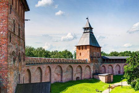 novgorod: Inside the Kremlin in Veliky Novgorod (Novgorod the Great), Russia