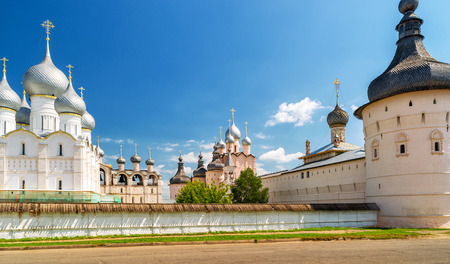 Kremlin of ancient town of Rostov the Great, Russia