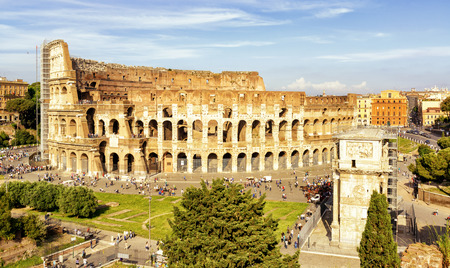 Colosseum (Coliseum) in Rome, Italy Banque d'images