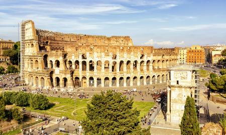Colisée (Colisée) à Rome, Italie