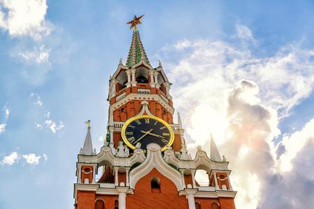 spasskaya: The famous Spasskaya tower of Moscow Kremlin, Russia