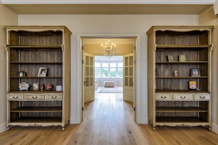 classic living room: Classic living room interior Editorial