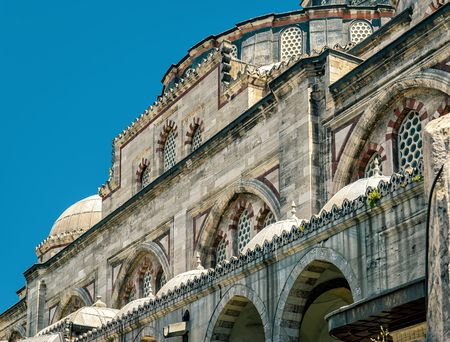 mehmed: The Sehzade Mosque (Princes Mosque) in Istanbul, Turkey