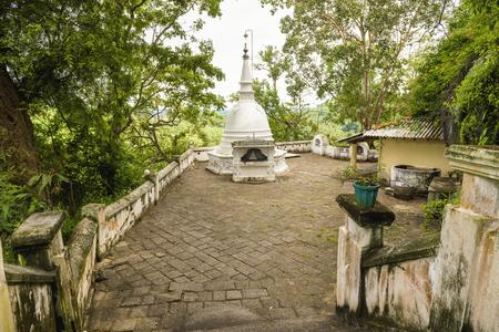 Mulkirigala Raja Maha Vihara is an ancient Buddhist rock temple in Sri Lanka