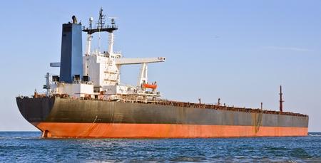 A big cargo ship in the sea. Stock Photo - 10097780