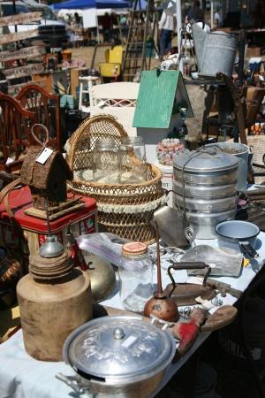 Antieke Swap Meet and Yard Sale
